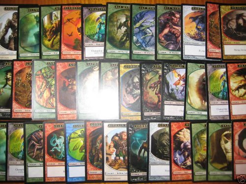 25 Random Magic The Gathering Creature Tokens - 1