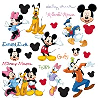RoomMates RMK1507SCS Mickey and Friends Peel & Stick Wall Decal by RoomMates