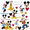 RoomMates RMK1507SCS Mickey and Friends Peel   Stick Wall Decal