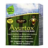 Ayurtox 60 Capsules - Ayurtox Is A Herbal Natural Supplement Geared Towards Detoxifying Your Body And Enriching...