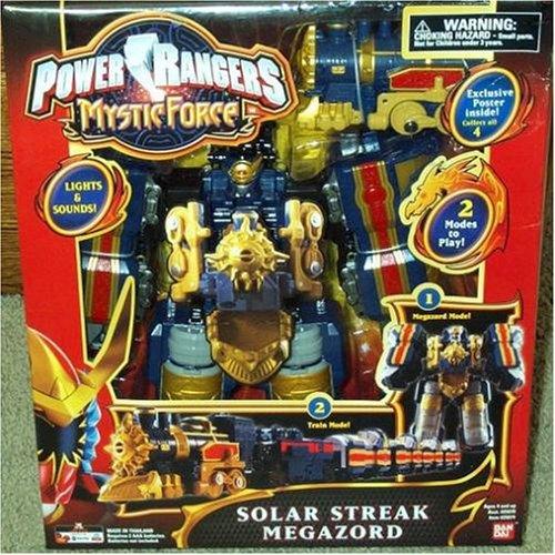 Power Rangers Mystic Force Solar Streak Megazord Action Figure