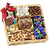 Broadway Basketeers Chocolate & Nut Gift Tray