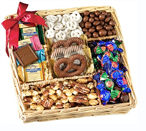 Chocolate & Nut Gift Tray by Broadway Basketeers image