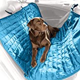 Kurgo Loft Hammock-Style Car Seat Cover for Dogs, Blue/Orange