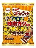 栗山米菓 ばかうけ味噌カツ風味 15枚×12袋
