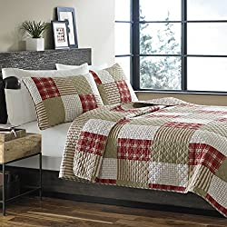 Eddie Bauer Cotton Quilt Set, Camino Island, King