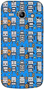 Snoogg System Digit Pattern Solid Snap On - Back Cover All Around Protection ...