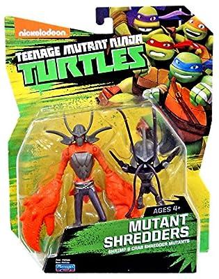 Nickelodeon Teenage Mutant Ninja Turtles Mutant Shredders Action Figures from Playmates - Toys
