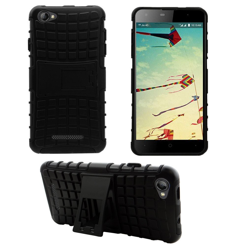 LYF Wind 1 LS-5010 Premium Helix Armor Case Cover With Kickstand For LYF Wind