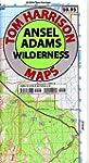 Ansel Adams Wilderness Trail Map: Sha...