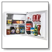 Haier 1.7 Cubic Feet Refrigerator with Freezer