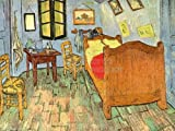VINCENT VAN GOGH BEDROOM OLD MASTER ART PAINTING PRINT REPRO 24x18 INCH (61x46 Cms) POSTER 3002OMLV by Doppelganger33 Ltd [並行輸入品]