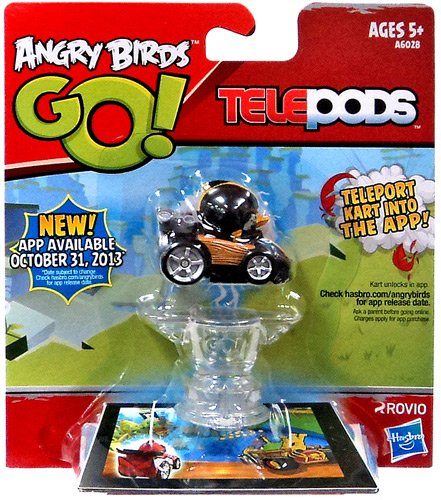 Angry Birds Go! Telepods Kart Black Bird