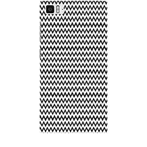 Skin4gadgets BLACK & WHITE PATTERN 24 Phone Skin for MI 3