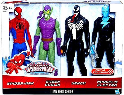 SPIDER-MAN vs. Villians Titan Hero Actionfiguren-Box 30 cm günstig als Geschenk kaufen