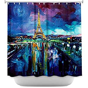 Dianoche designs shower curtains by artist aja for Funky home decor accessories