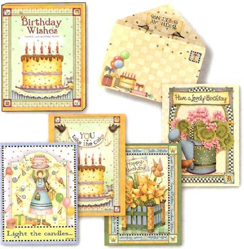 Birthday Wishes by Debbie Mumm - [ASN34638] Birthday