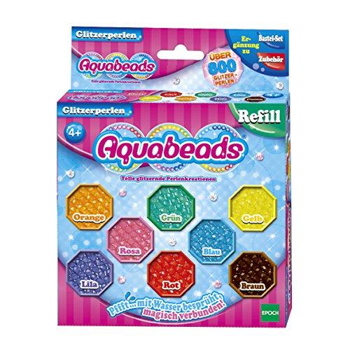 Aquabeads 79378 - Kinder-Bastelsets - Glitzerperlen hergestellt von Aquabeads