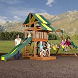 Backyard Discovery Independence All Cedar Wood Playset, Bronze
