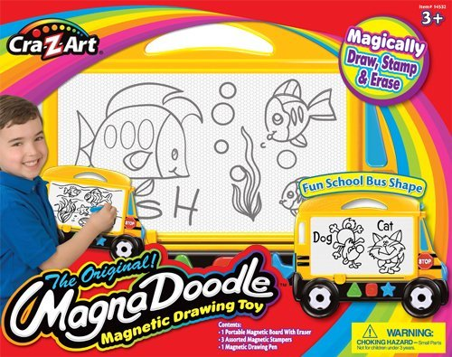 Drawing Is Fun With No Mess - Cra Z Art Magna Doodle Bus
