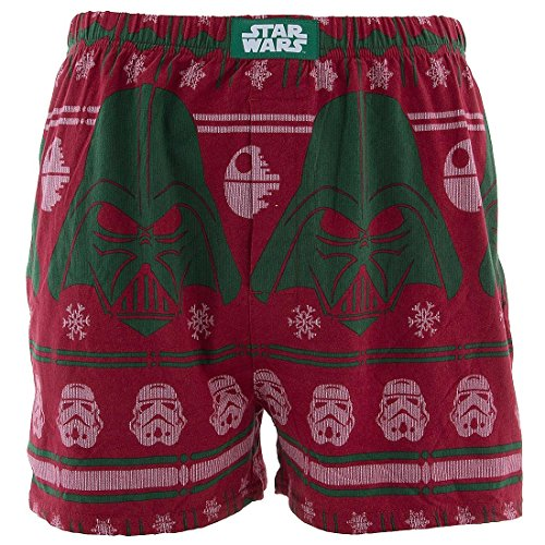 Christmas Boxer Shorts. Ode to Christmas Boxers for Men Whether it's Santa-a-smiling or funny styles he's eying, tons of smiles you'll be supplying when you buy Christmas boxers for men. For kids they are boring and while teens are all snoring, on this holiday morning, he'll be happily adorning his Christmas boxers for men.