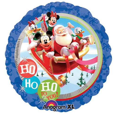 "18"" Mickey Clubhouse Santa With Wreath - 1"