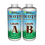 General Hydroponics Cocotte Coco Grow A and B for Gardening, 1-Quart