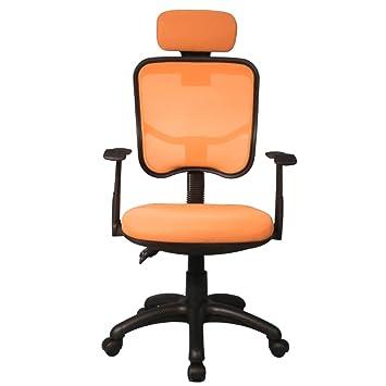 Sedie Da Ufficio Arancione.My Sit Sedia Da Ufficio Poltrona Presidenza Sydney Arancione Casa
