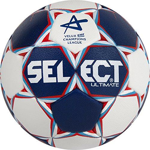 Select pallone da pallamano Ultimate CL, Blu/Bianco/Rosso, 3, 1612858203