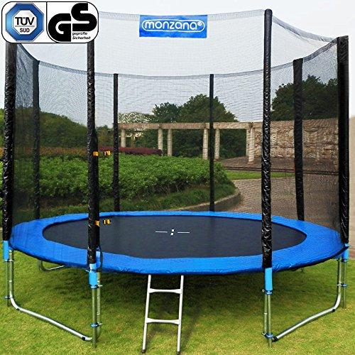 Trampolin Kindertrampolin Garten Set 305cm + Netz Leiter Plane Zubehör TÜV/GS jetzt kaufen