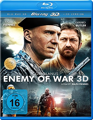 Coriolanus - Enemy of War (+ Bonus-DVD) [3D Blu-ray]