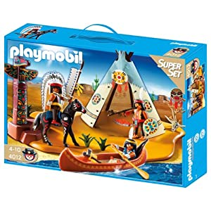 Playmobil 4012 - Oeste superset campamento indio