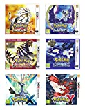 Pokémon Mega Bundle: Sole, Luna, Rubino, Zaffiro, X e Y - Nintendo 3DS
