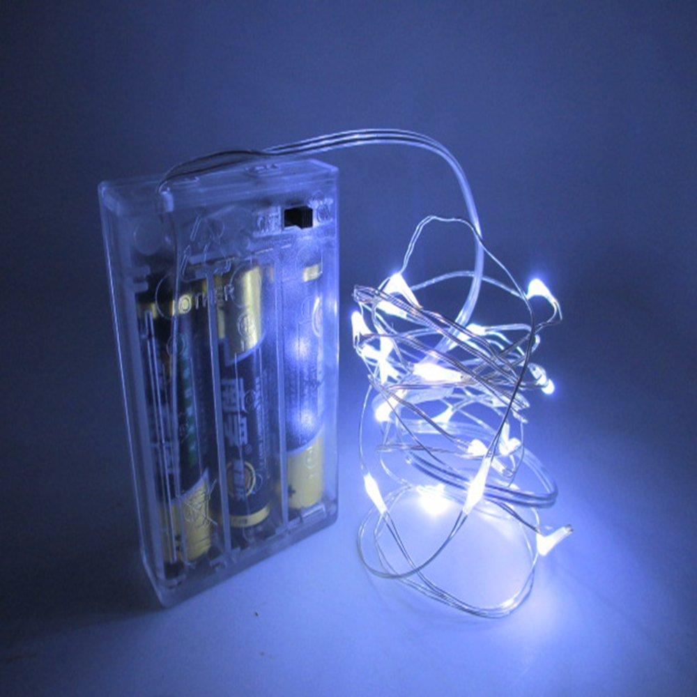 LED String Lights,Sundarling Copper Wire Dacorative Lights 30 LEDS Outdoor Waterproof Lights for ...