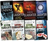 Karin Slaughter Karin Slaughter Grant County 8 Books Collection Pack Set RRP: £61.7 (Broken, Fractured, Indelible, Faithless, Undone, Blindsighted, Kisscut, A Faint Cold Fear)