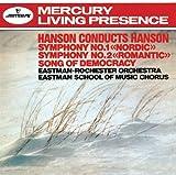 ハンソン:交響曲第1番「ノルディック」&第2番「ロマンティック」