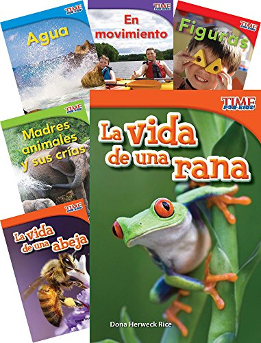TIME FOR KIDS® Informational Text Grade 1 Readers Spanish 30-Book Set (TIME FOR KIDS® Nonfiction Readers) (Spanish Edition) (How To Make A Time Mi compare prices)