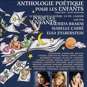 Anthologie poétique pour les enfants Audiobook