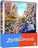 Zootropolis (Ltd Steelbook) (3D) (2 Blu-Ray+Blu-Ray 3D)