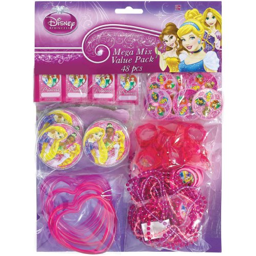 Disney Princess Favor Pack 48 Pc. - 1