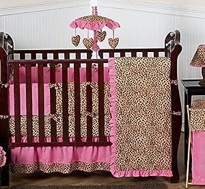 Pink Cheetah Print Baby Bedding Set from Sweet Jojo Designs