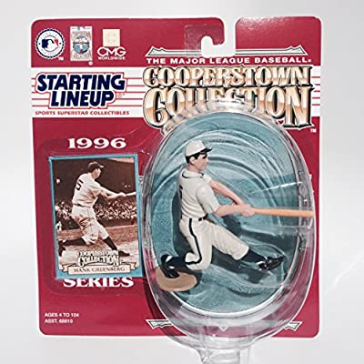 Hank Greenberg Action Figure of the Detroit Tigers - 1996 Starting Lineup - The Major League Baseball Cooperstown Collection