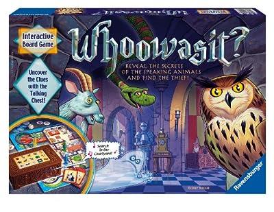 Whoowasit - Award-winning Board Game Electronics by Ravensburger