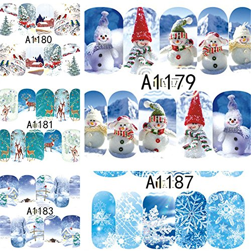 NICOLE DIARY 12 Small Sheets Winter Snowman Scene Deer