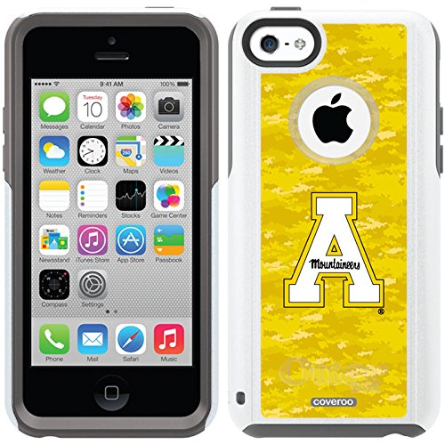 Appalachian State Color Camo Design On A Glacier Otterbox® Commuter Series® Case For Iphone 5C