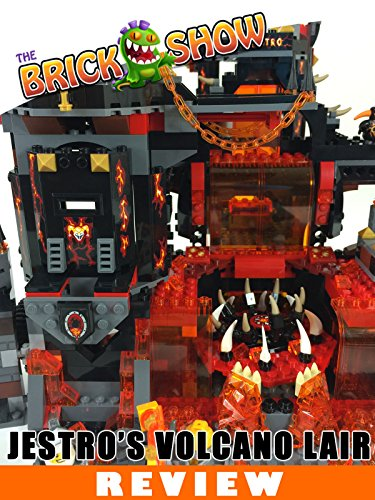LEGO Nexo Knights Jestro's Volcano Lair Review (70323)