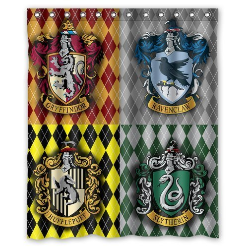 Harry Potter Houses Shower Curtain