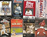 2007 Baseball Cards Gift Lot - 10 Different Unopened Packs of 2007 Cards - Look for MLB rookie cards, superstars, and special inserts plus possible Jersey and Autograph Cards From Topps , Fleer, Donruss & Upper Deck - (Low to Mid Piriced Packs)