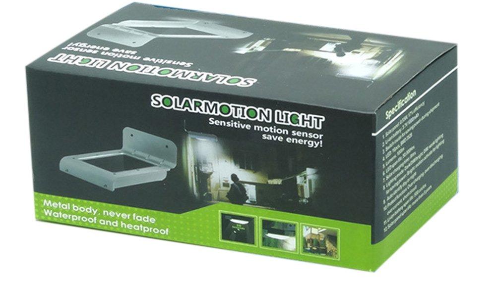 ANLENG Smart Solar Power LED Lights Sensitive Auto Motion Sensor ...