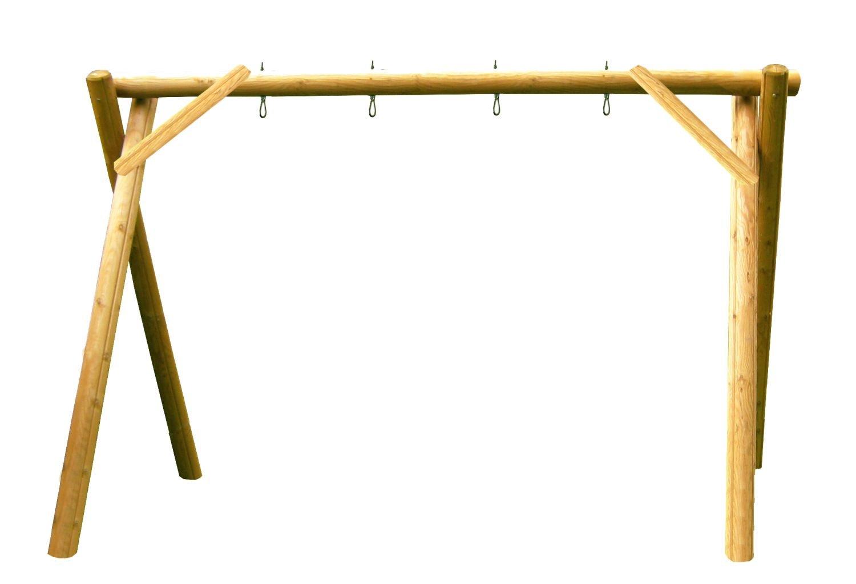 b+t IGA-300-K-220 2-Platz Schaukelgestell / aus Kiefer / für den privaten Bereich / inkl. Schaukelhaken kaufen